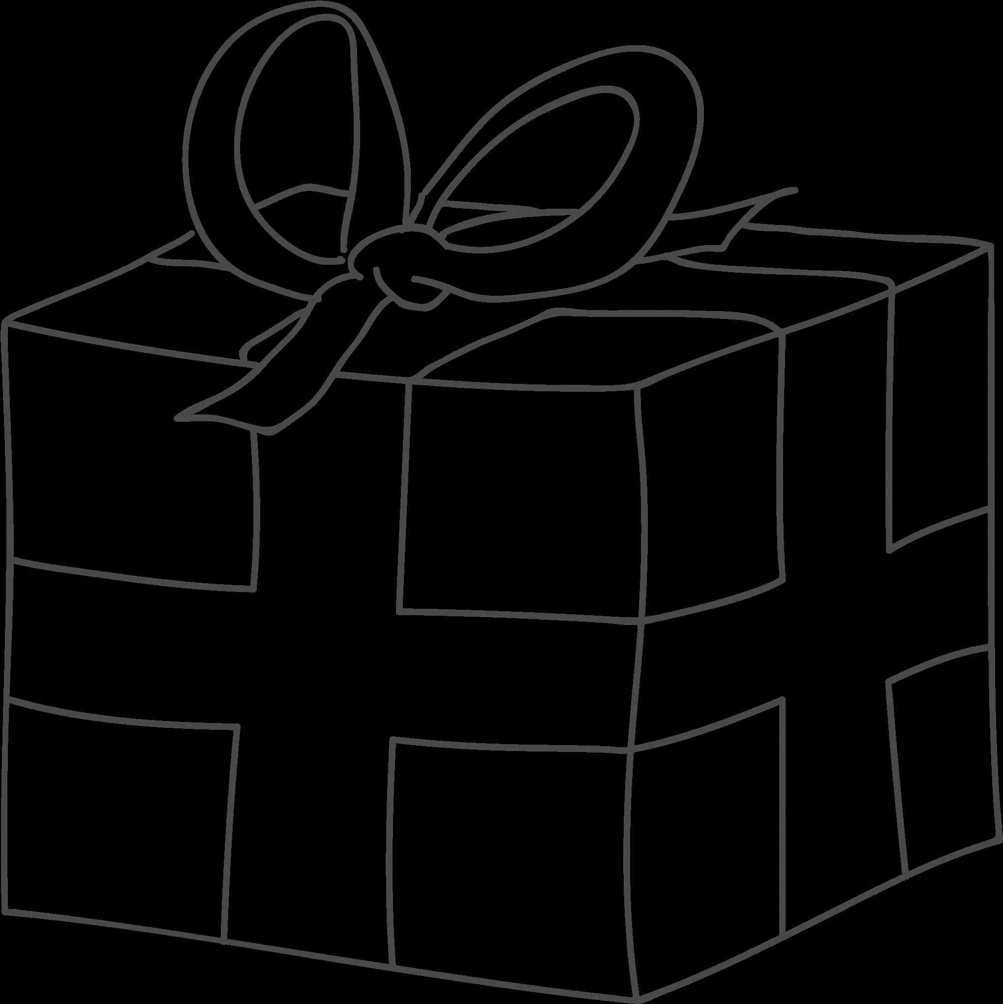 Ausmalbilder Weihnachten Geschenke.Gift Ausmalbild Weihnachten Geschenke 2040x2046 Png