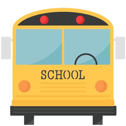 School Bus Svg Scrapbook Title School Svg Cut Files - School Bus Back Clipart (432x432)