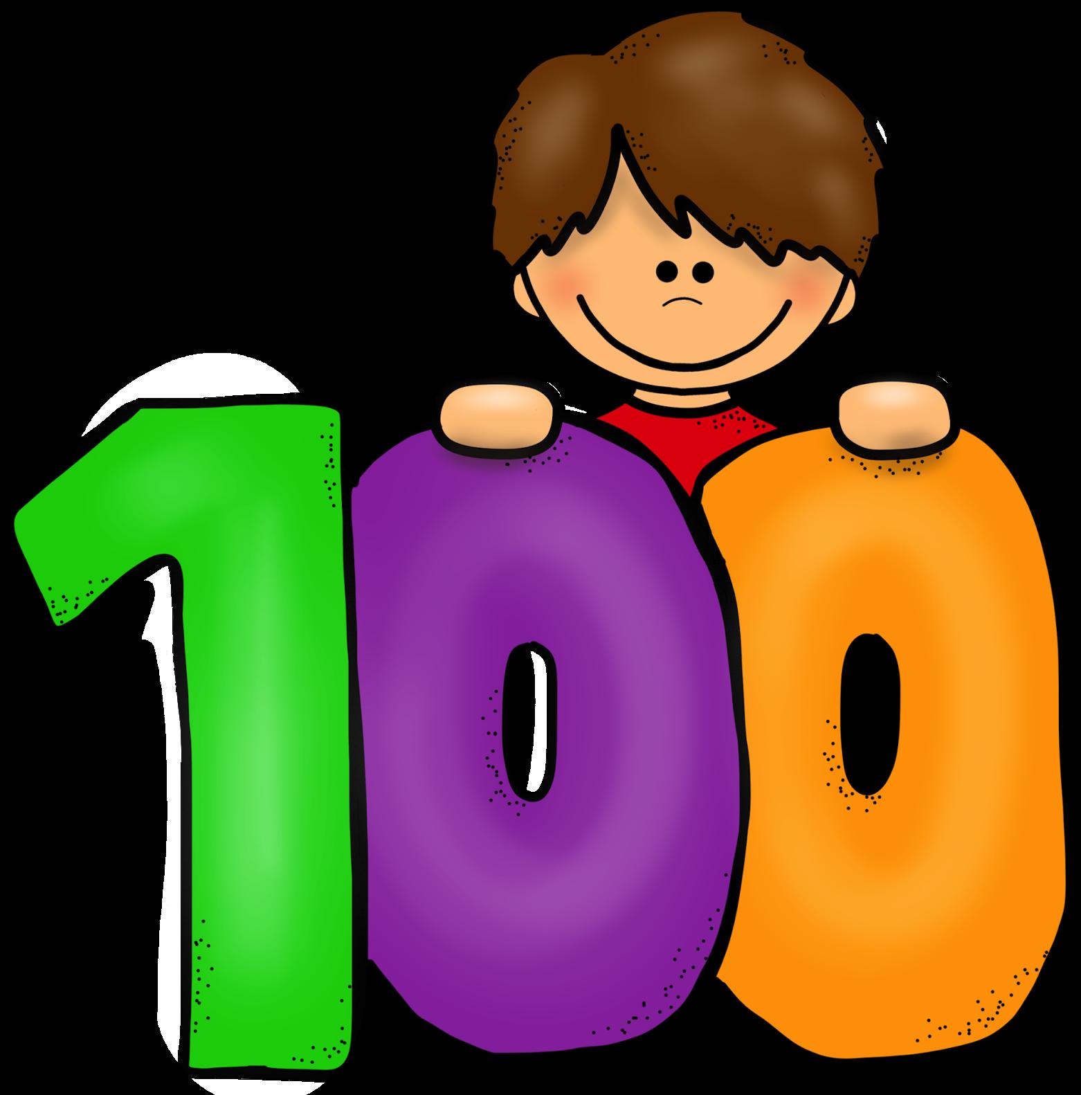 Цифра 100 в картинках
