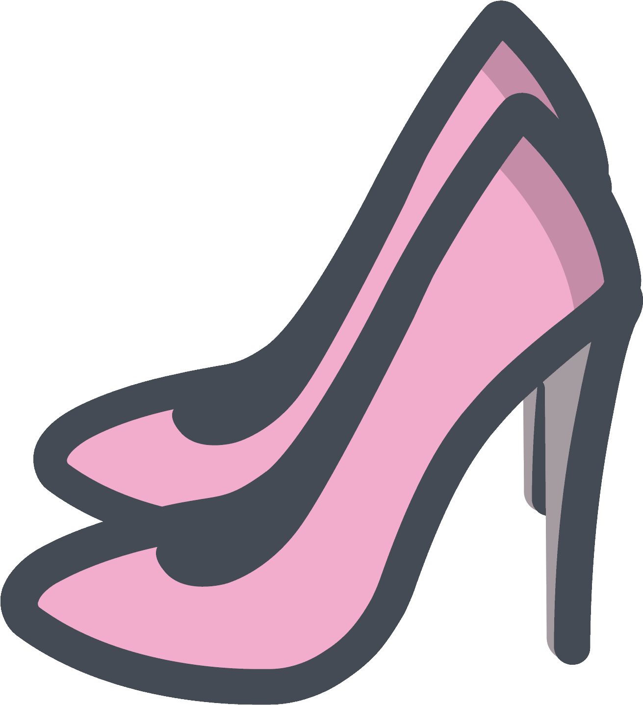 Women Shoes Clipart Pink Shoe Women Shoes Clipart Pink Shoe 1600x1600 Png Clipart Download