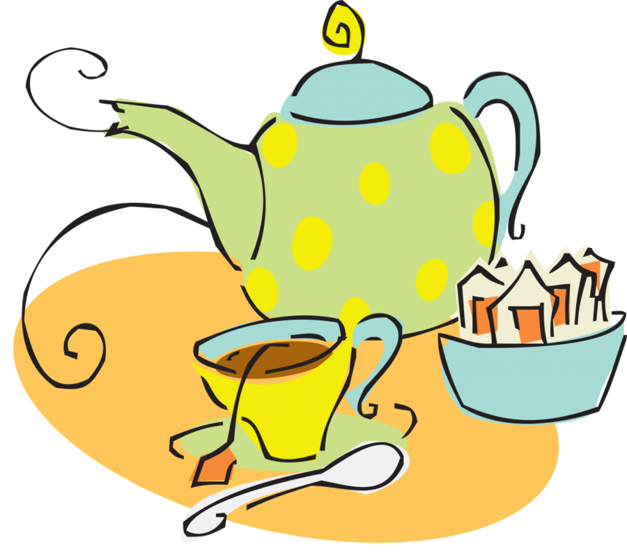 потревоженное мультяшные картинки к чаю платья