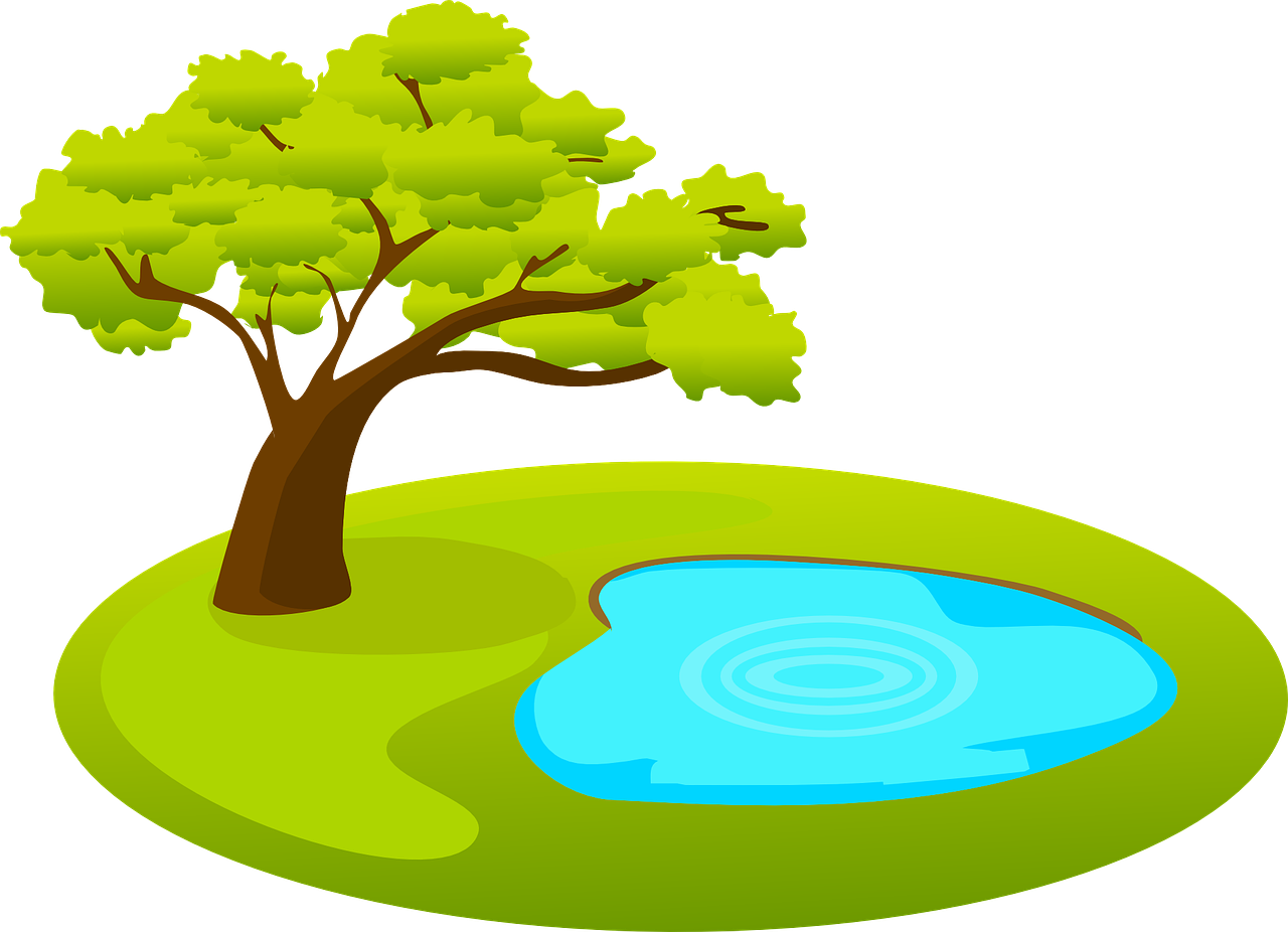 Картинки озеро для детей на прозрачном фоне