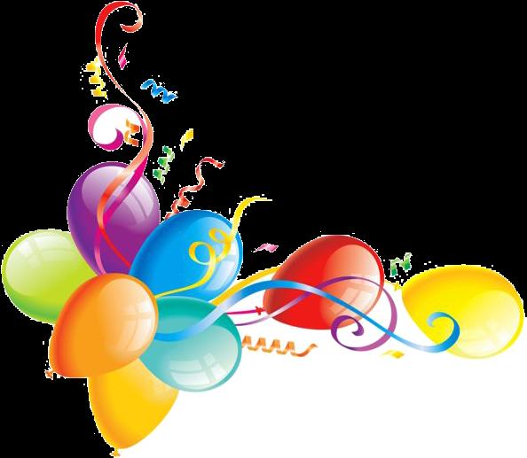Custom 8th Birthday Party Invitation Balloons Card (600x519)