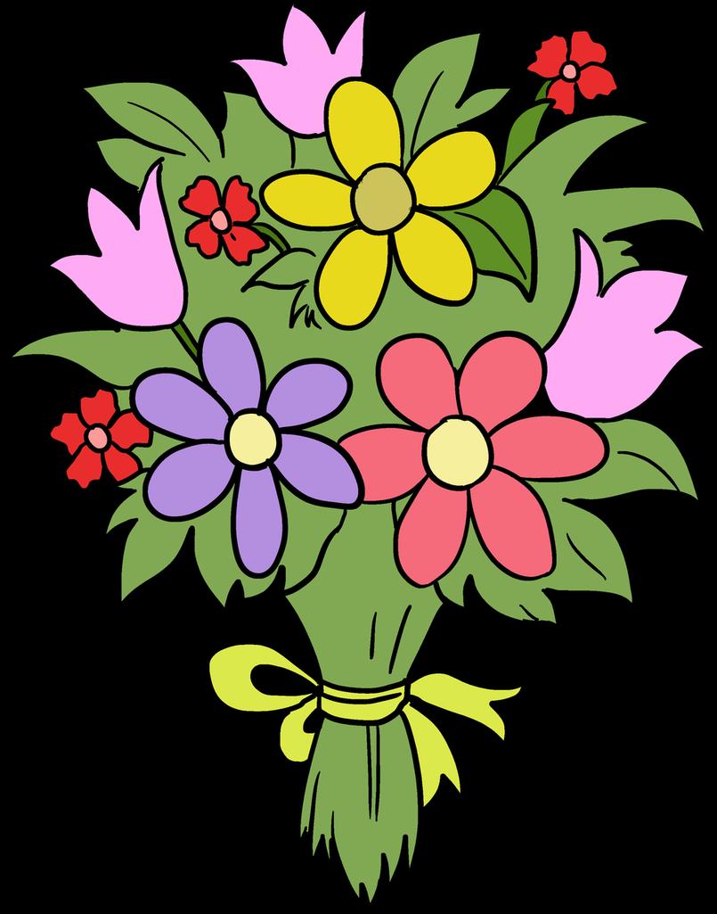 Чем, букетики цветов картинки рисованные