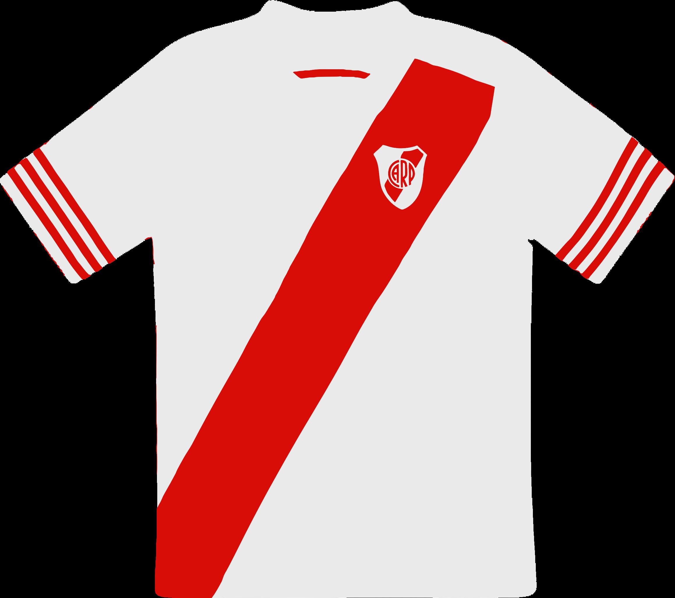 Clipart River Plate Camiseta - Camiseta De River Plate Sin P