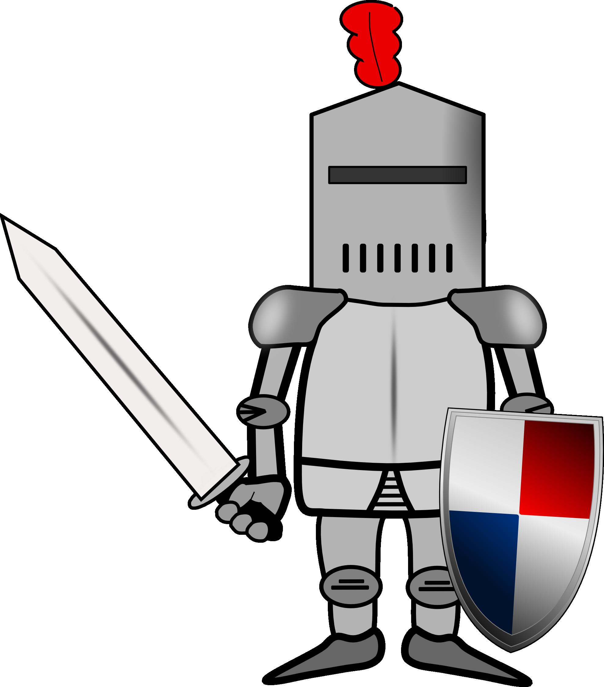Картинка с рыцарем для детей
