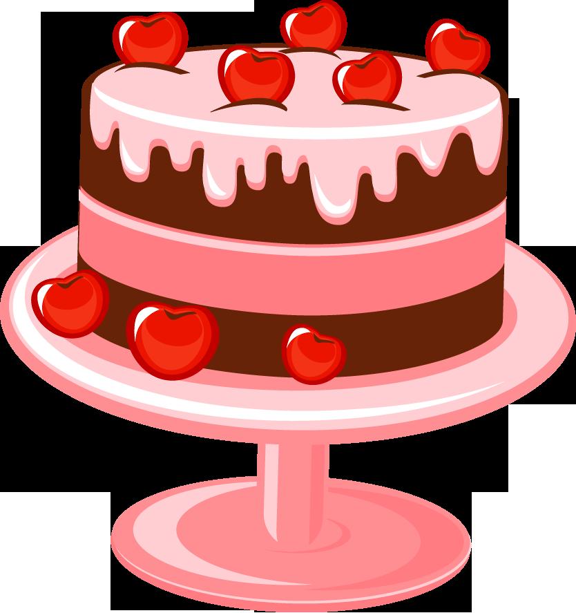 Картинки тортов нарисованных