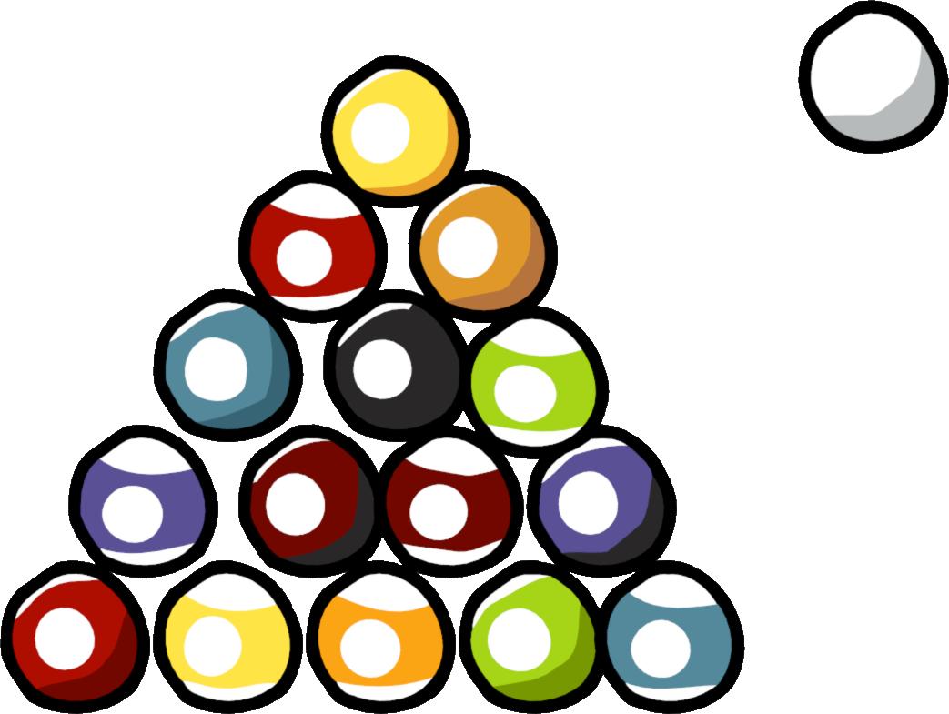 Pool Balls - Scribblenauts Unlimited Sharks (1043x785)