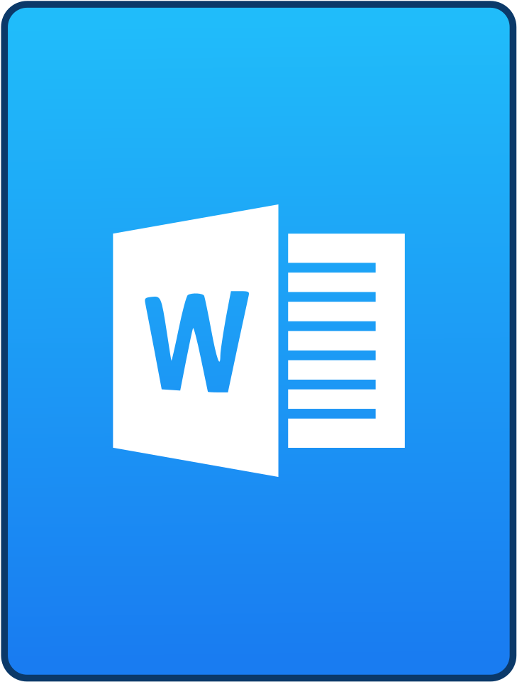 Antu Application Wps Office - Windows Word Icone - (1024x1024) Png