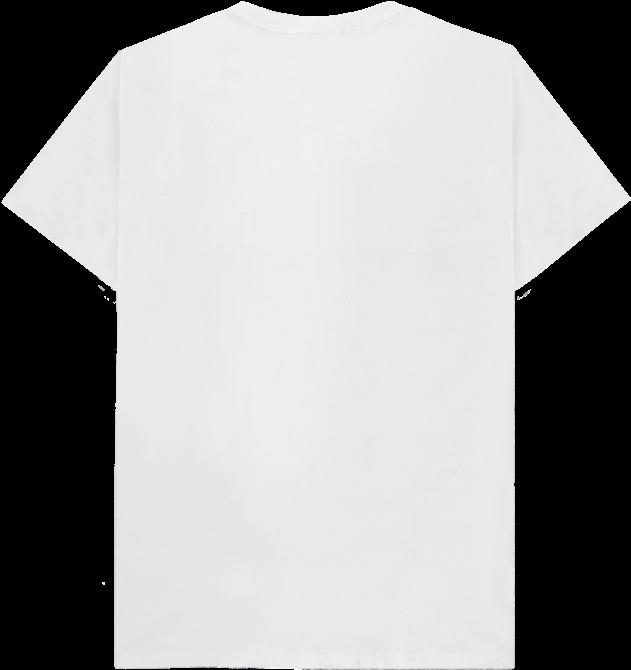 Back View T Shirt White Plain 770x810 Png Clipart Download