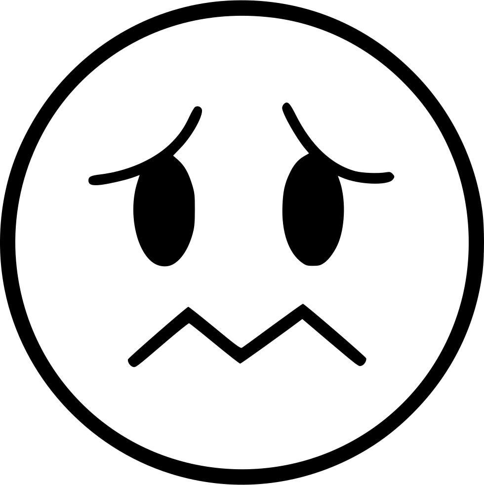 sad emoticon png - 980×982