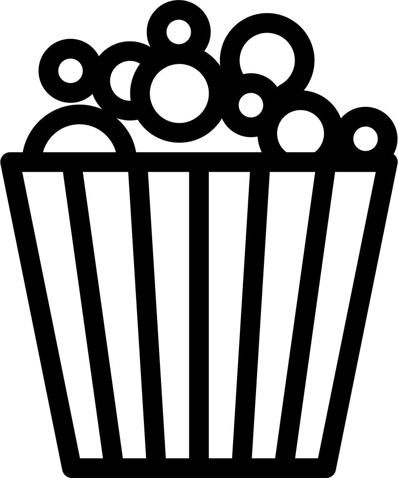 Cinema Popcorn Comments - Popcorn (816x980)