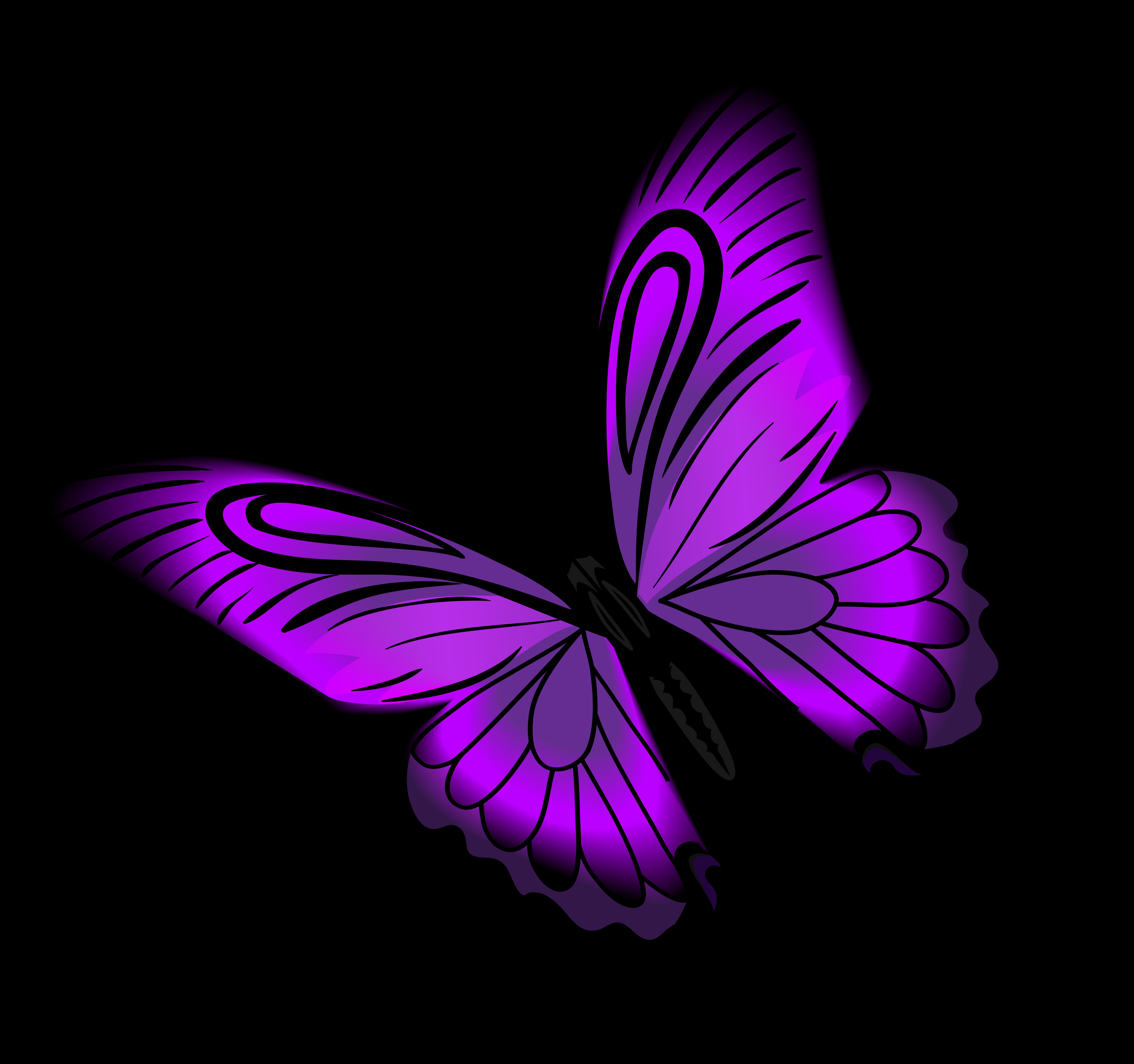 Бабочки рисунок на прозрачном фоне, козлятки для