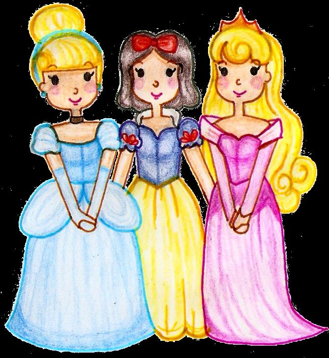 The - Three Princesses (691x778)