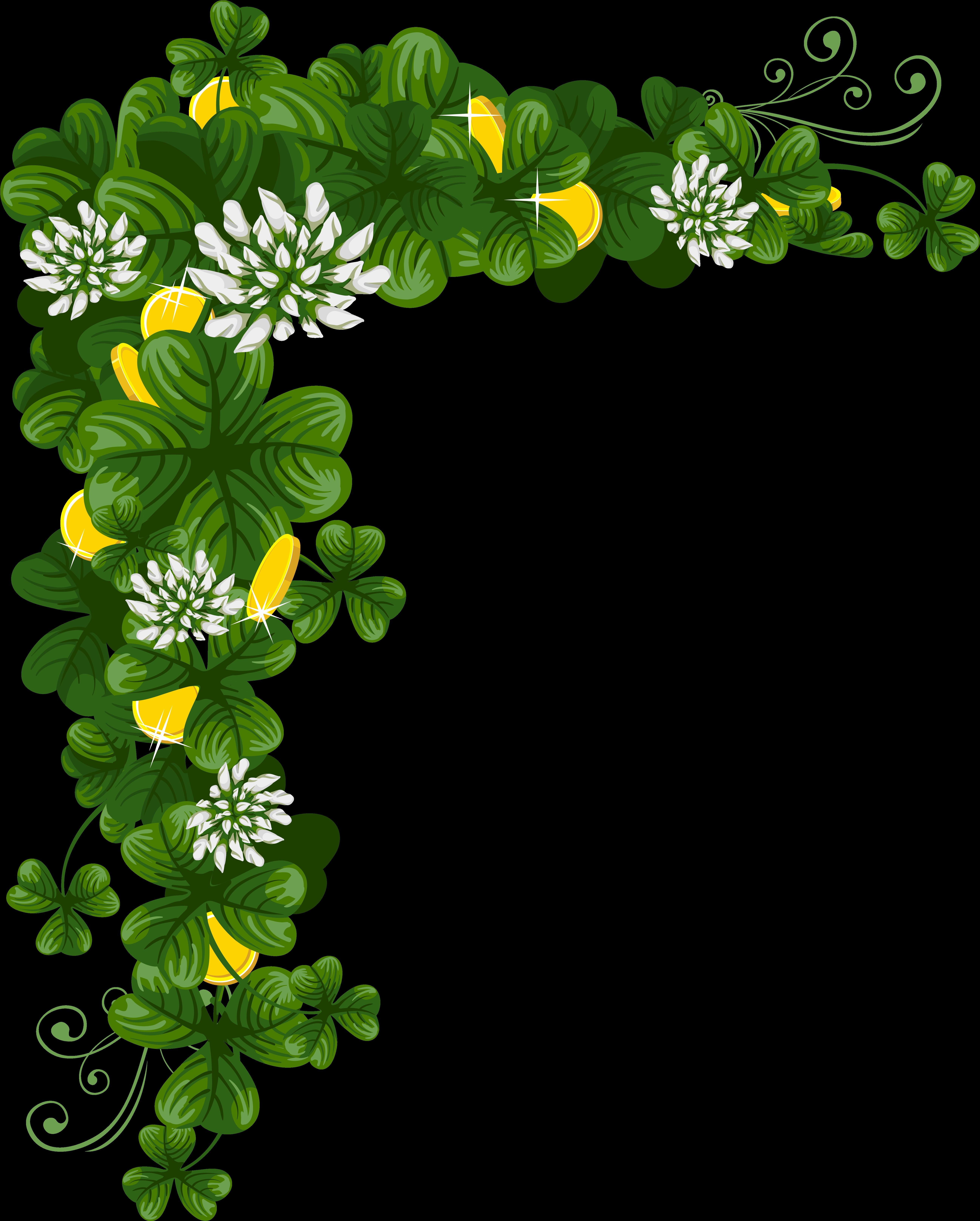 Открытка с зеленью
