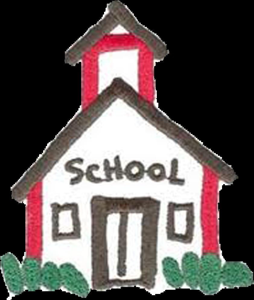 Schoolhouse School House Rock Clip Art Free Clipart - School House Clip Art Free (1050x1050)