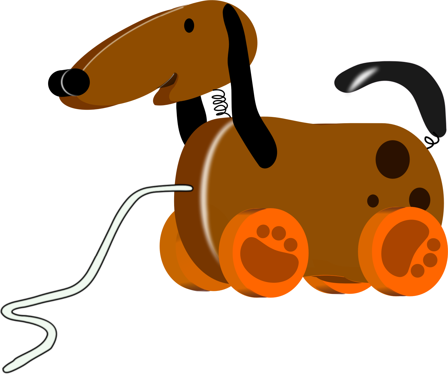 Dog Toy Clip Art - Toy Dog Clipart (1482x1238)