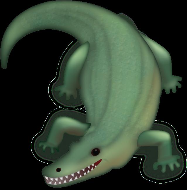 Crocodile Alligator Emoji Domain Crocodile Transprent - Crocodile Emoji (647x768)
