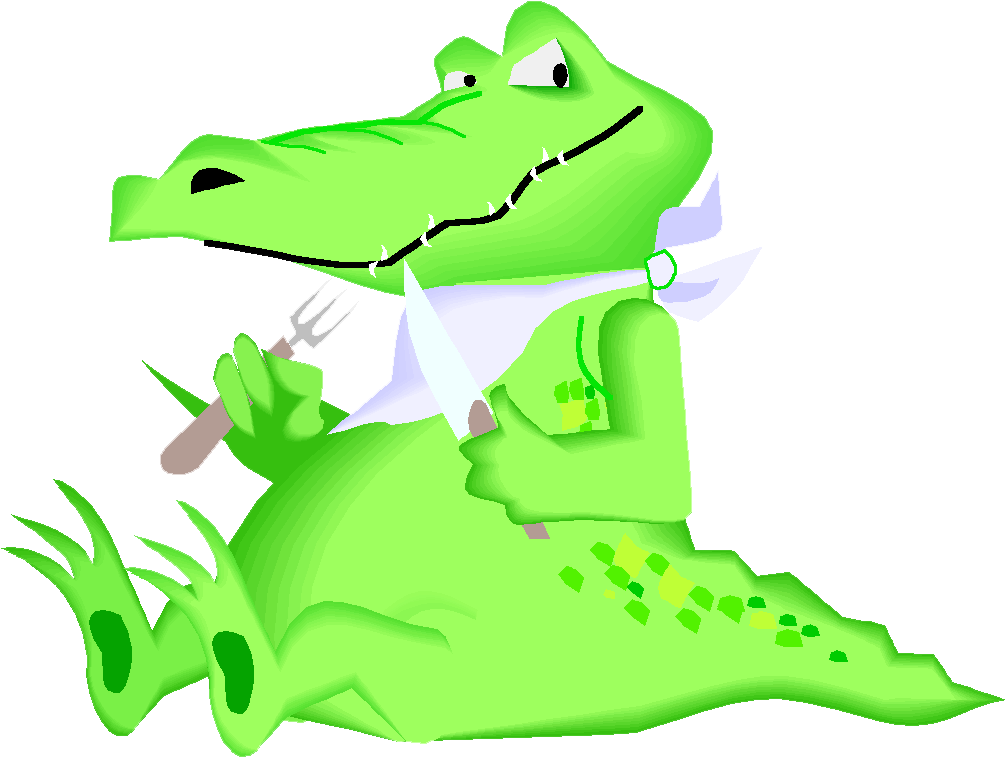 The Enormous Crocodile Alligator Cartoon Clip Art - Crocodile Cartoon (1024x828)