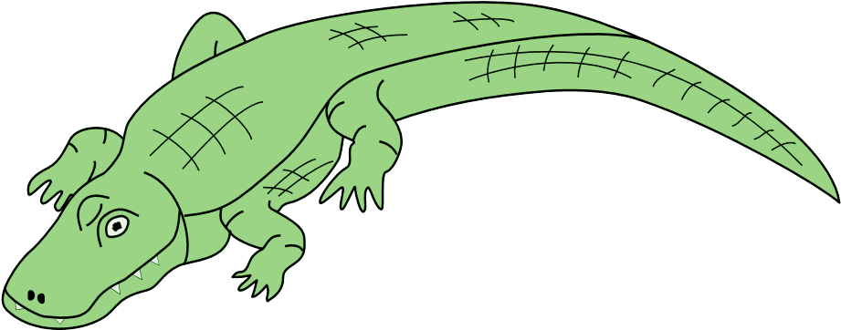 Crocodile Clip Art - Alligator Pie By Dennis Lee (980x400)