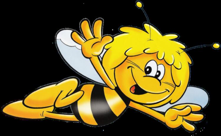 Днем рождения, картинка анимашка пчела