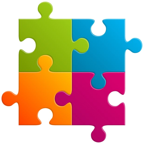 At Onepoint, We Have Strong Experience And Processes - Puzzle Vector Free (520x487)
