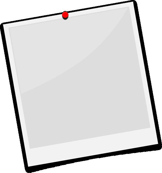 Polaroid Clipart - Polaroid Frame Png Clipart (558x597)