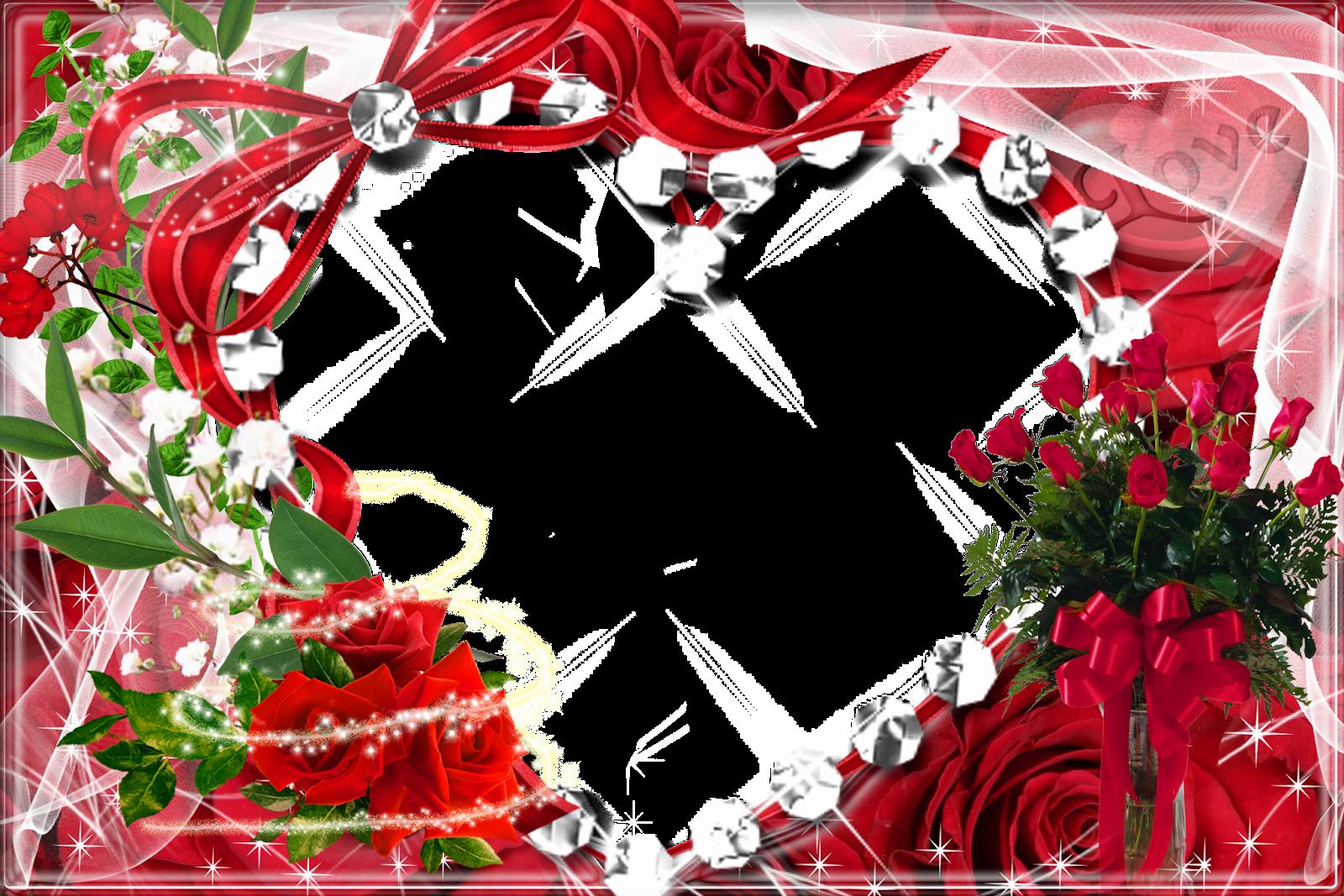 Рамки для фото с розами хотим