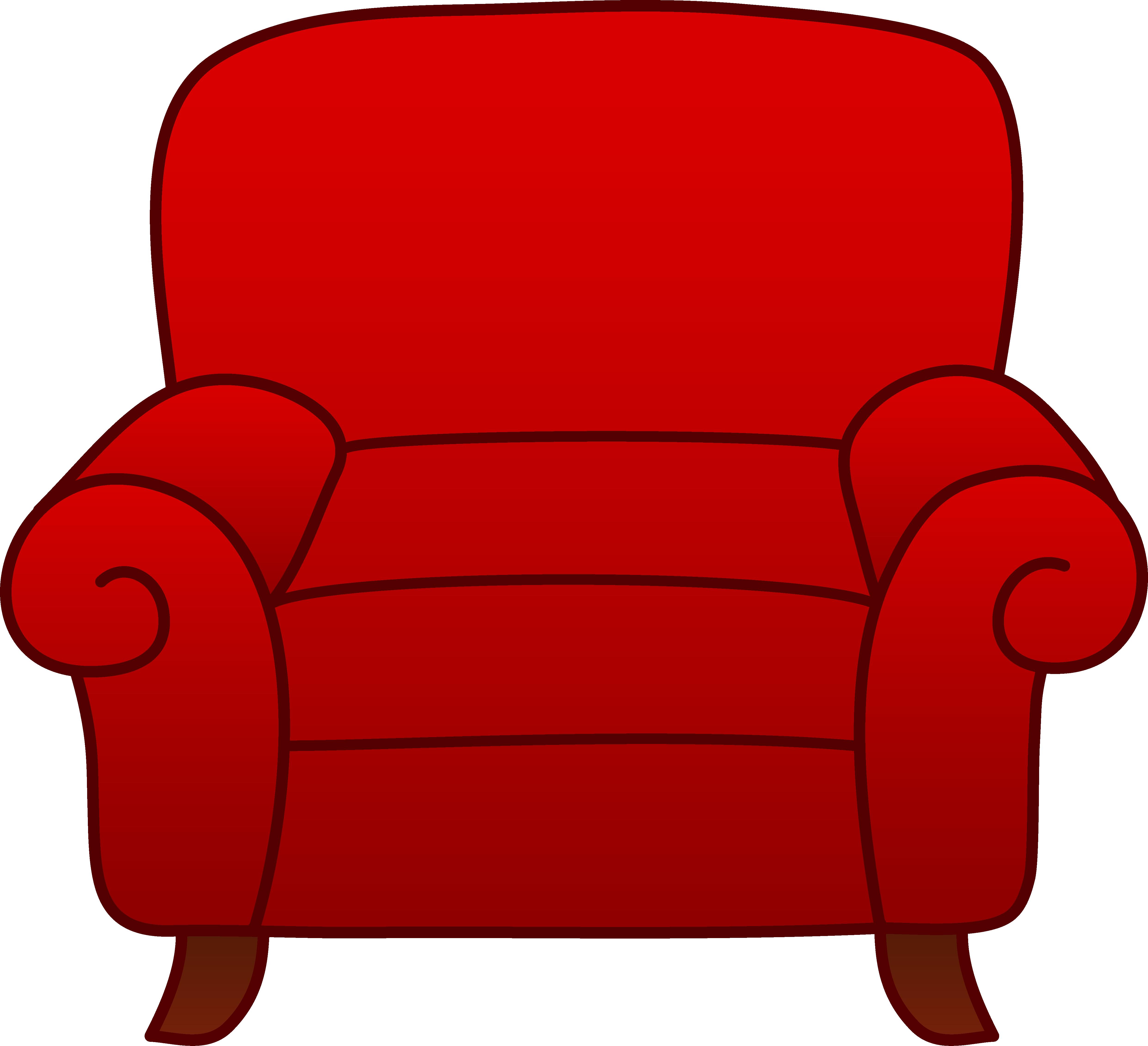 картинка красное кресло других