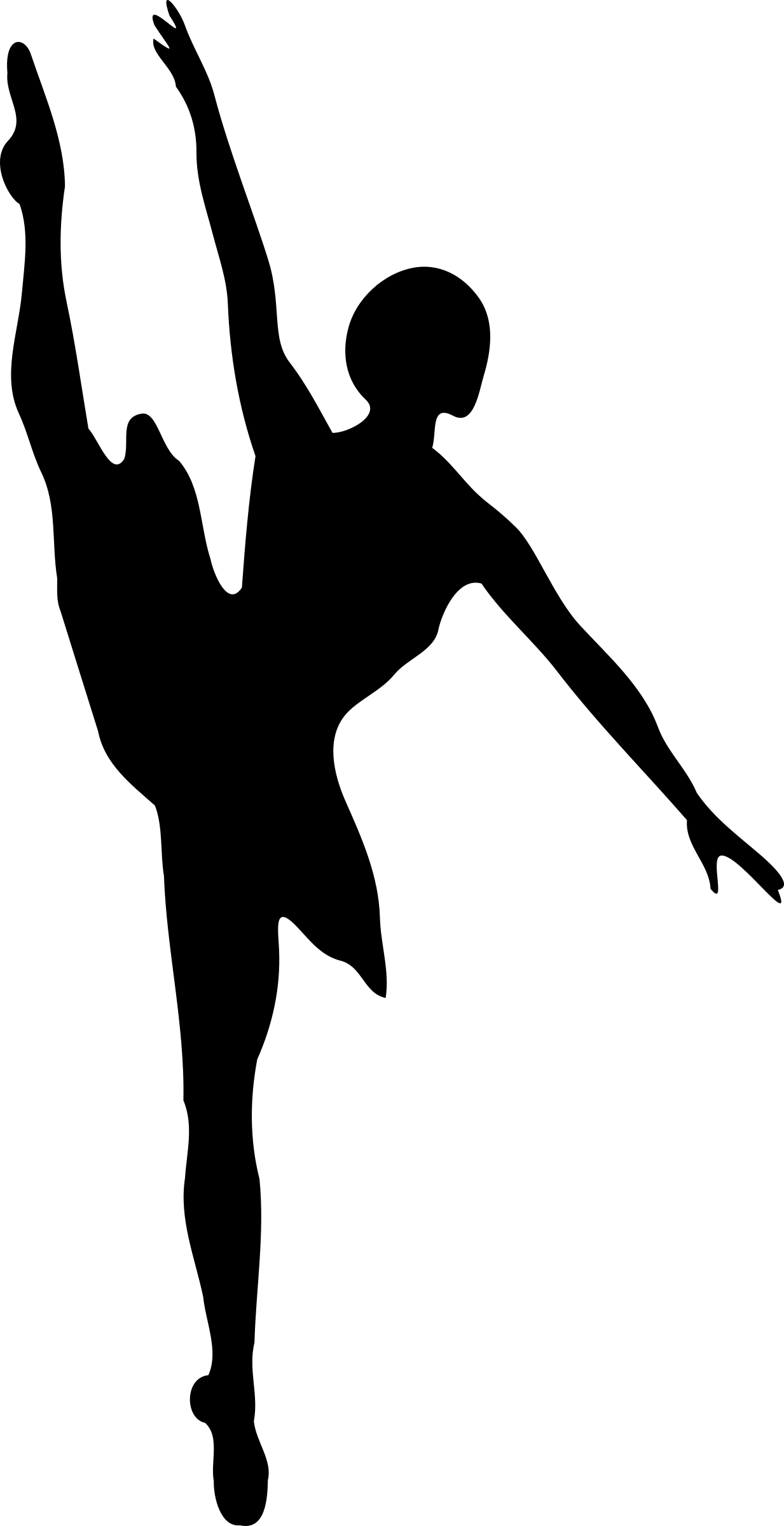 Ballet Dancer - Ballet Dancer Silhouette (1233x2400)