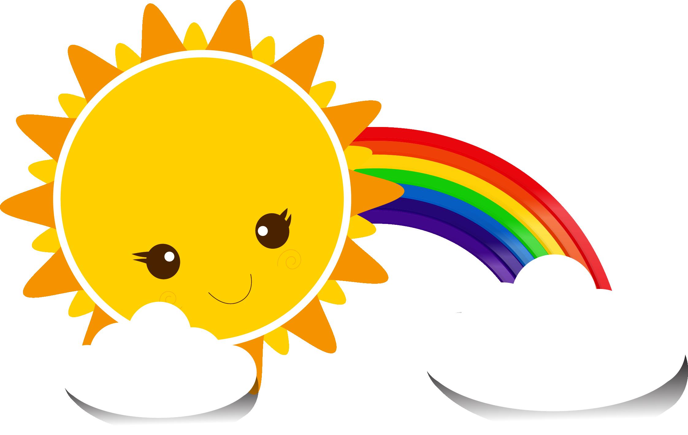 картинки с радугой и солнцем и детьми запаситесь свежими