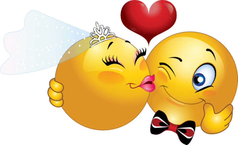 Картинка смешные поцелуйчики
