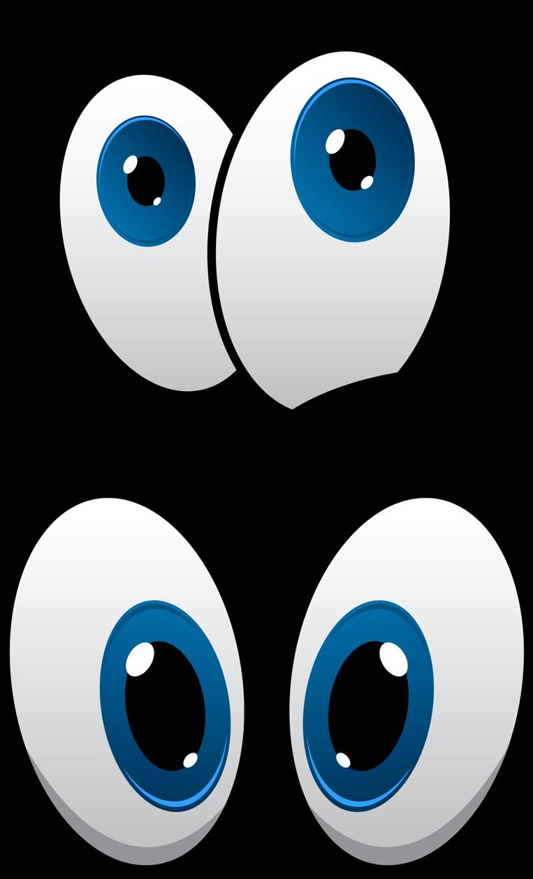 Мультяшные глазки картинки для детей