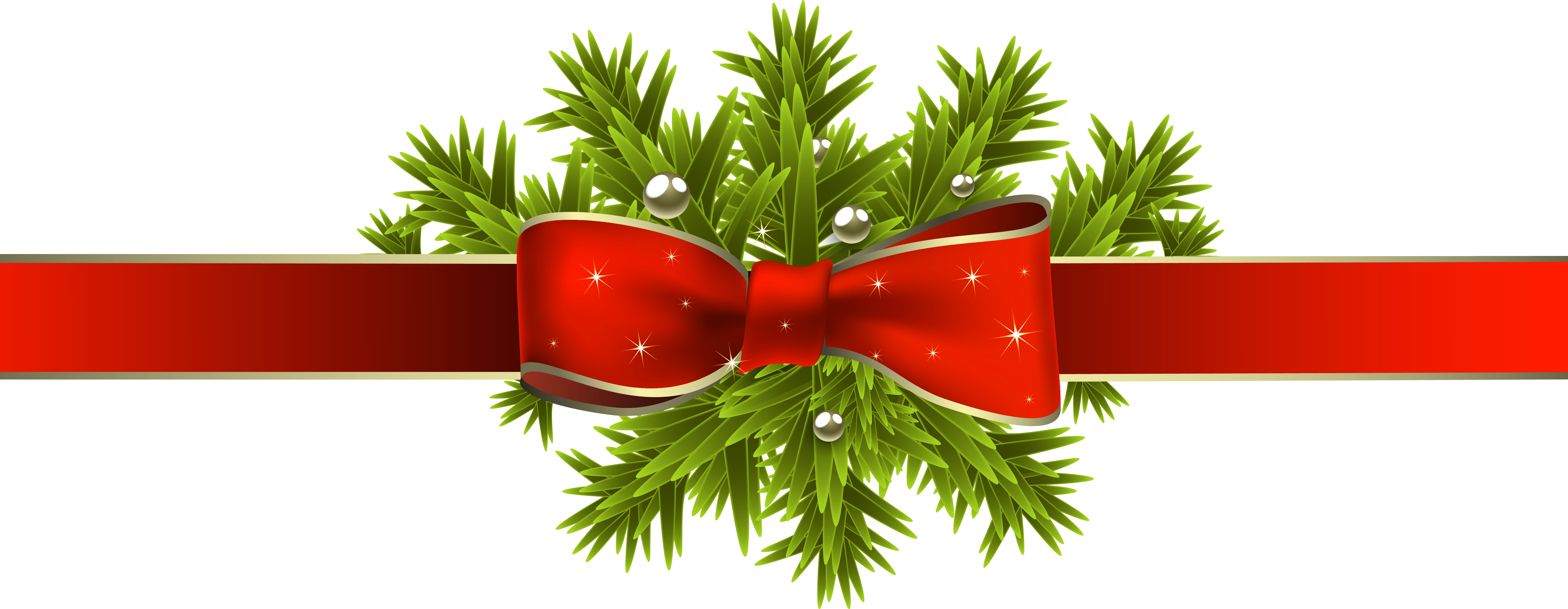 Christmas Decoration Png - Merry Christmas And Happy New Year Wishes (6172x2396)
