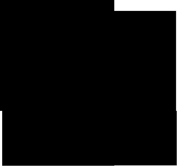 Inek-4 - Farm Animals Outline Drawing (570x533)