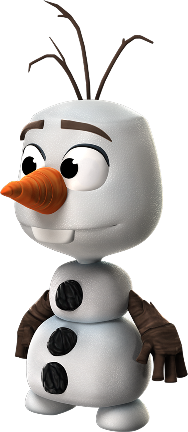 Frozen Olaf Png Free Download - Frozen Olaf Mini Png (734x1515)