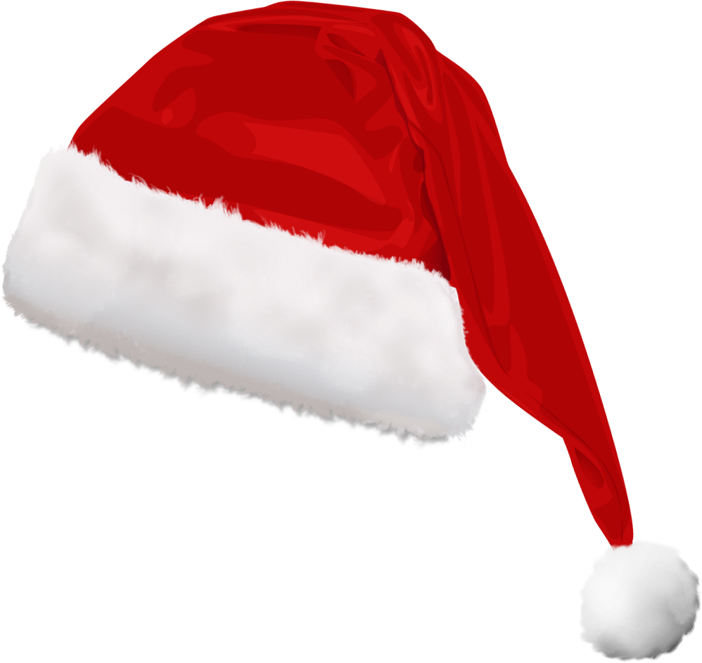 Download And Use Christmas Hat Png Clipart - Christmas Hat Transparent Background (998x943)