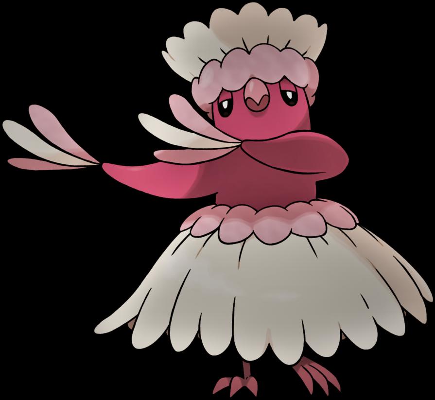 Oricorio Pa U0027u Style Psychic And Flying Type By - Pom Pom Style Pokemon (894x894)