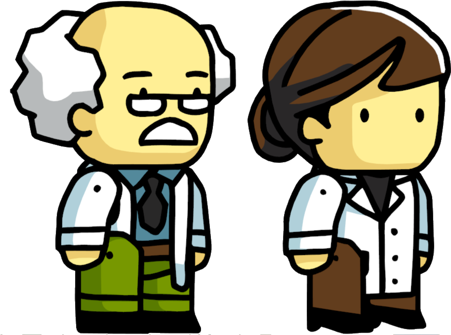 Scientist - Scribblenauts Wiki - Scientist Png - (961x719
