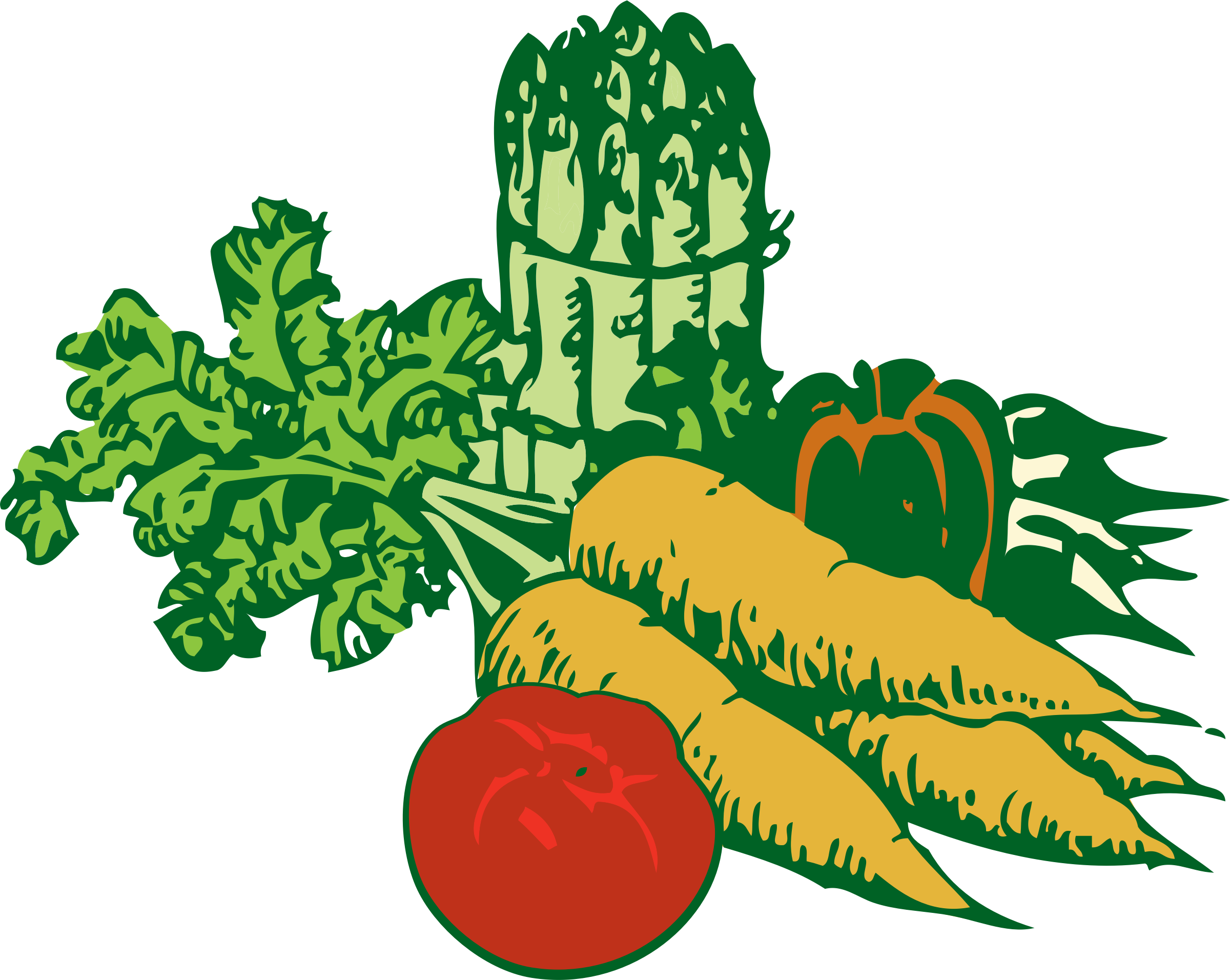 Free Png,logo,coloring Pages Market Clipart - Vegetable