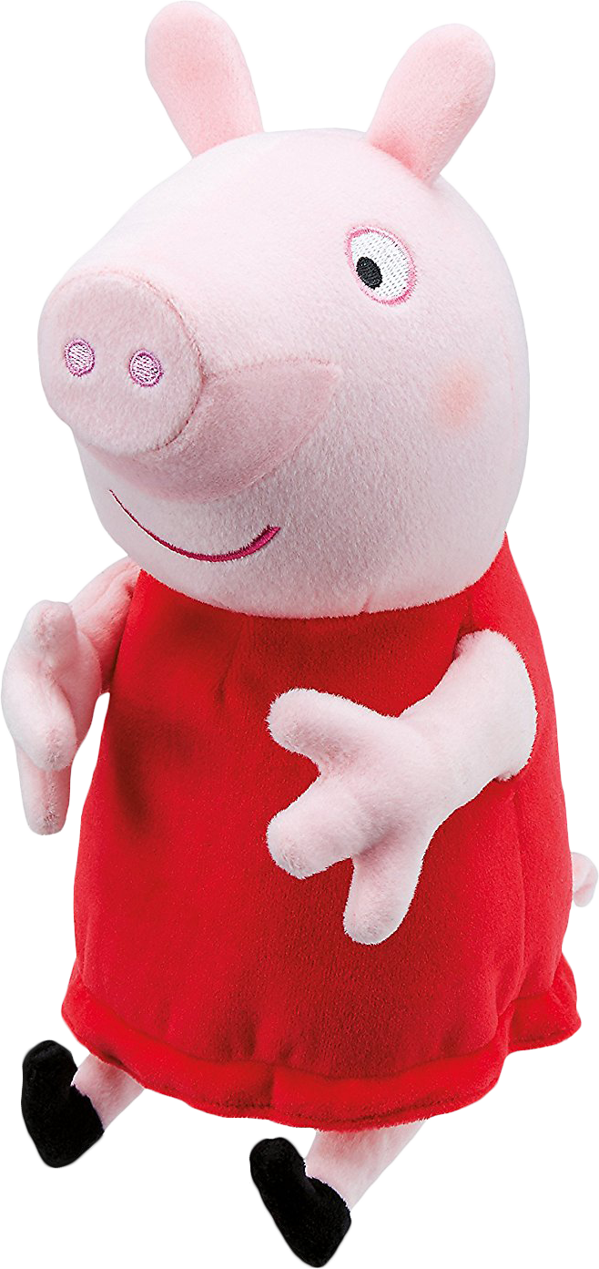 Peppa - Laughing Peppa Pig Toy (658x1393)