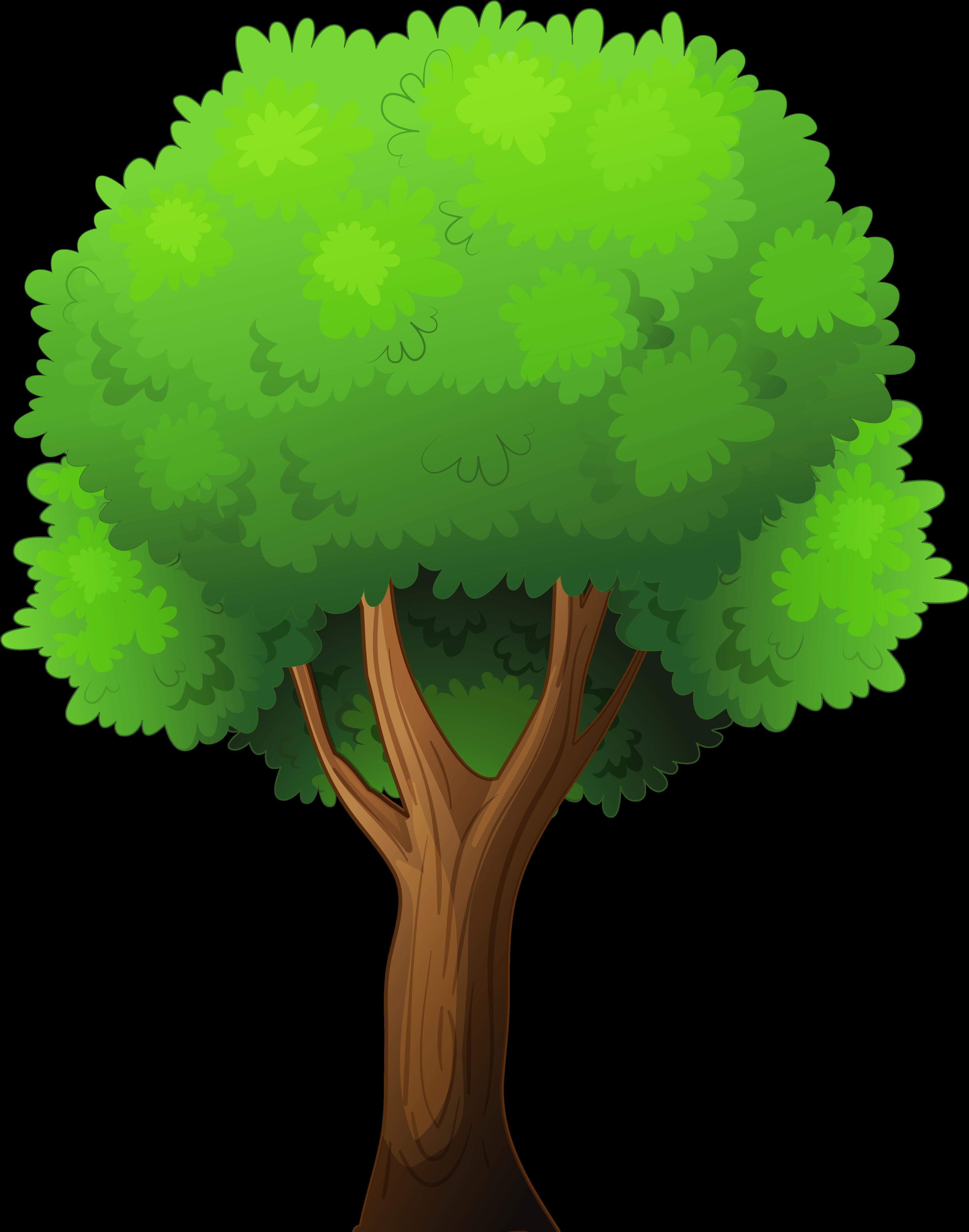Деревья для детей в картинках