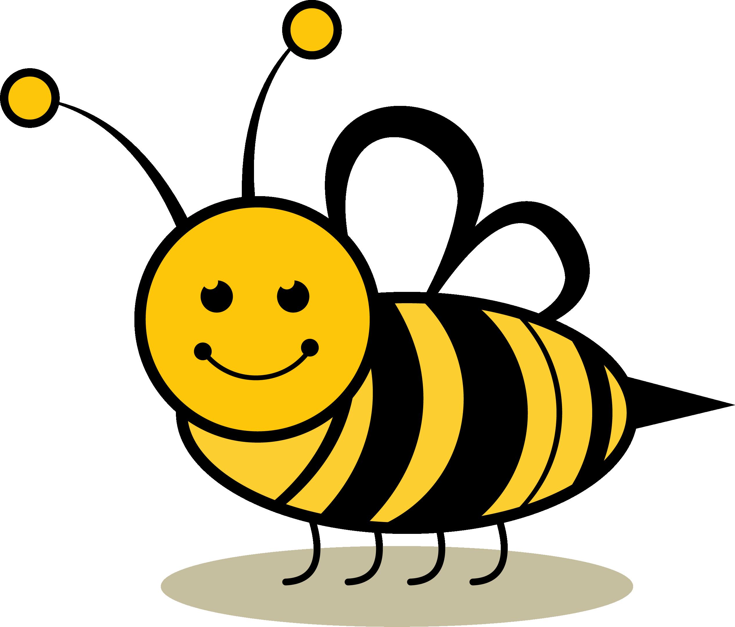 Пчелка картинки для детей нарисованные, днем