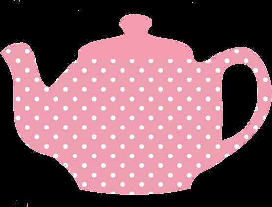 Teapot Clipart Transparent Background - Tea Party Tea Pot (591x421)