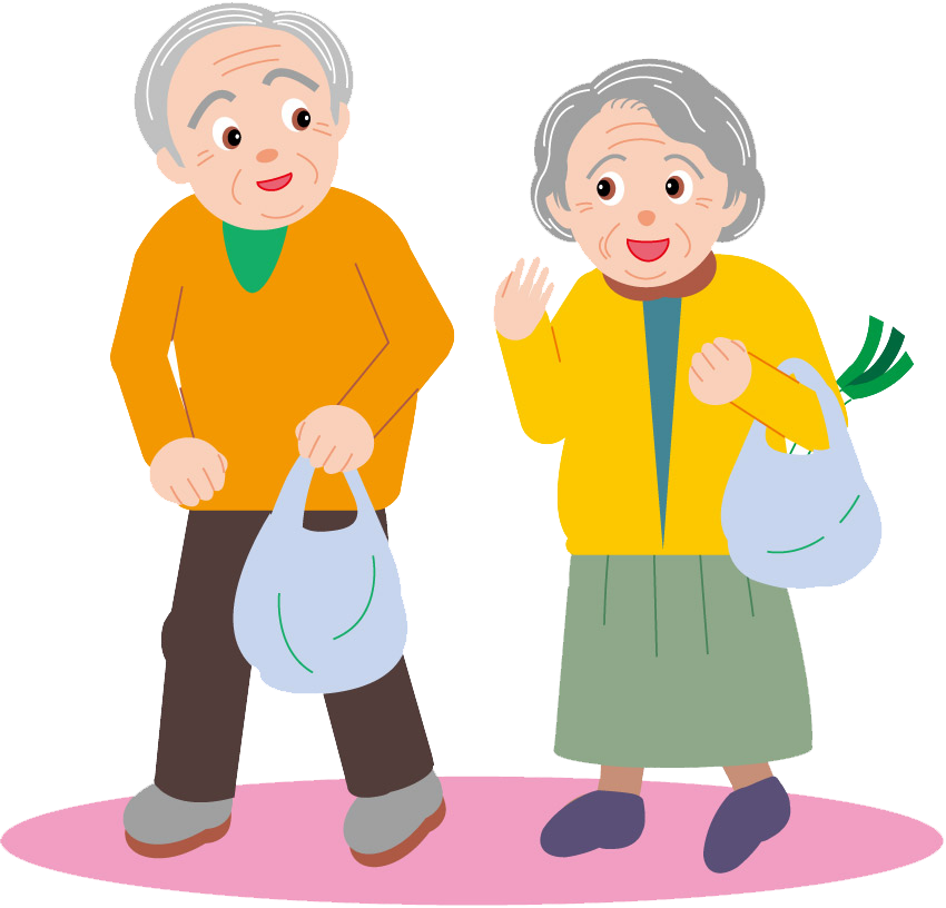 Дедушка с бабушкой в картинках для детей