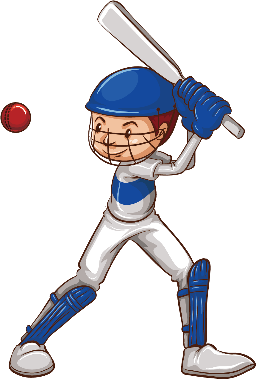 Cricket Drawing Sketch Boy Playing Cricket Cartoon 1500x1500 Png Clipart Download