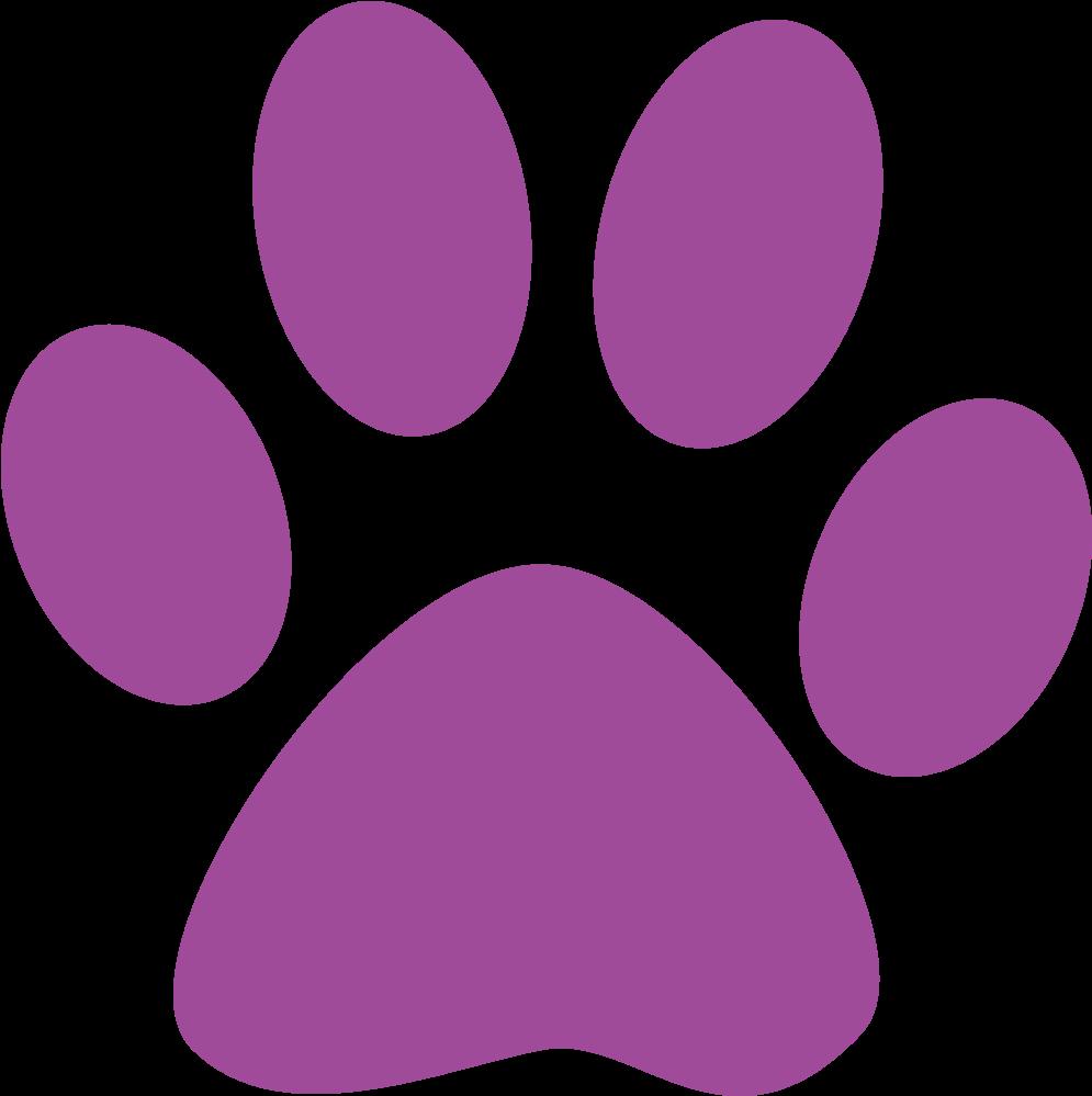 Paw Clipart Litter Puppy - South Park High School (1024x1024)