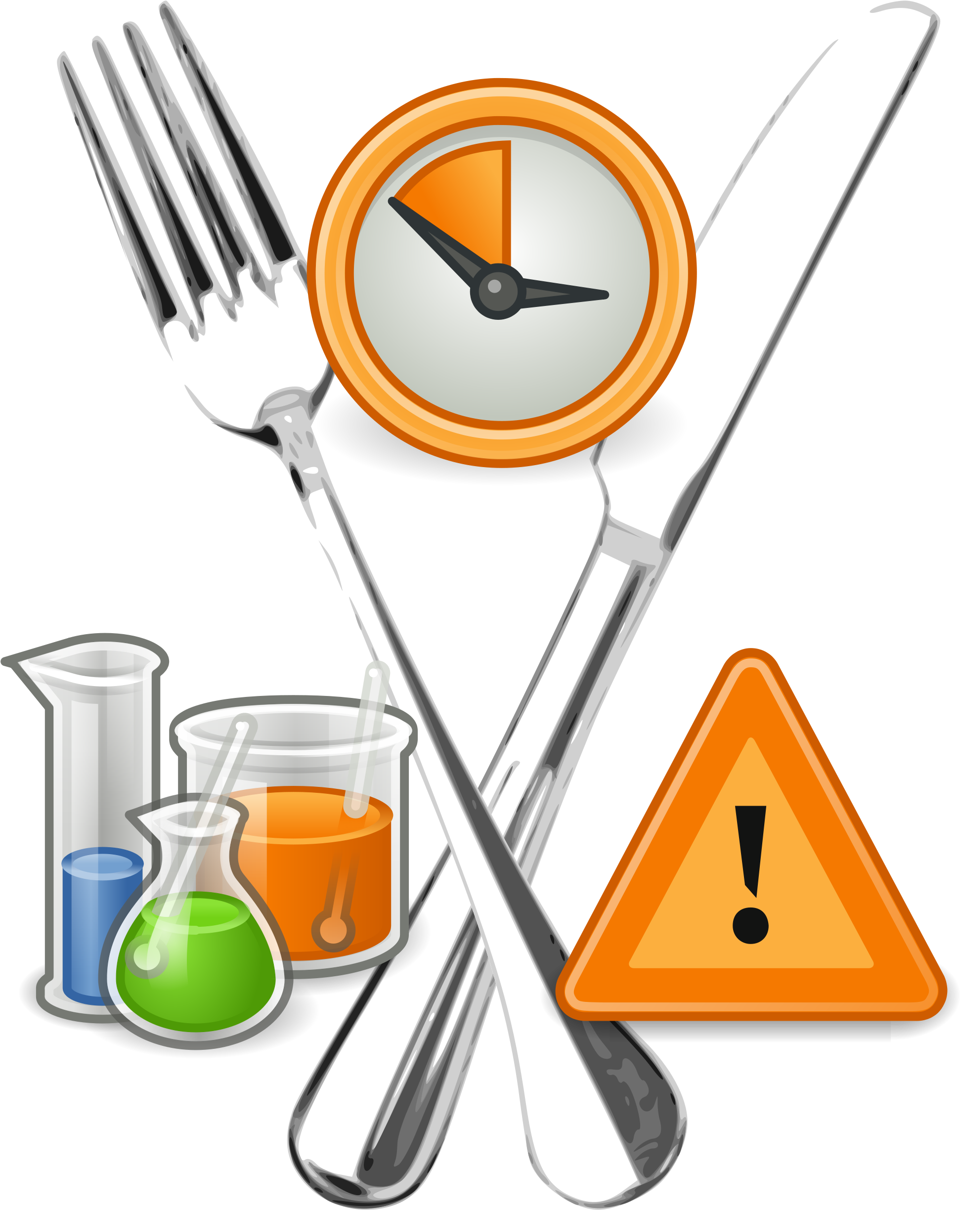 Food Hygiene Clipart - Safety Issues Of Irradiated Food (2000x2571)