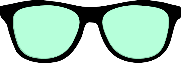 Glasses Clipart Photobooth - Sunglasses Photo Booth Props (600x211)
