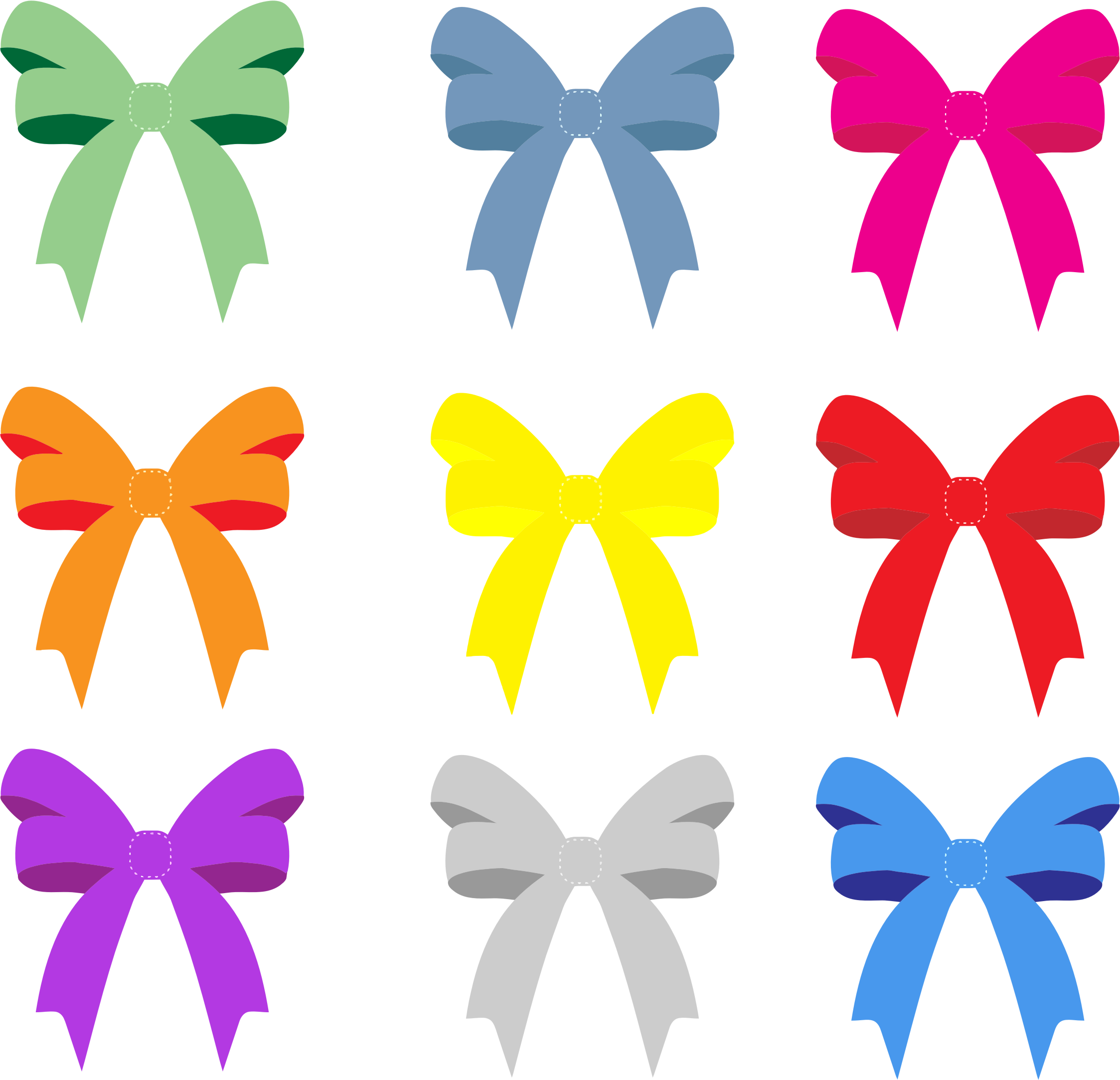 Цветы открытки бантики